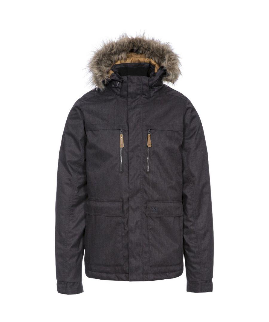 Image for Trespass Mens Kingpeak Waterproof Windproof Padded Walking Jacket Coat