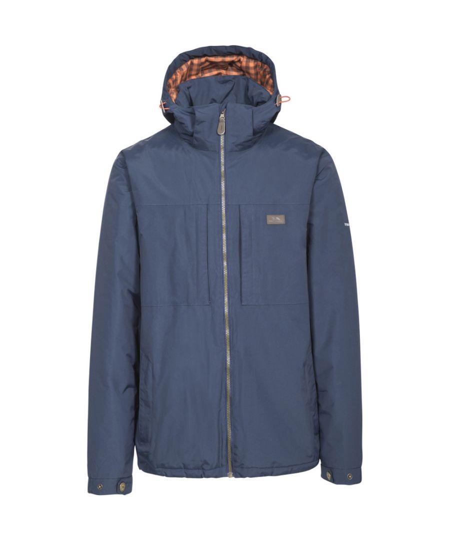 Image for Trespass Mens Savio Waterproof Windproof Padded Walking Jacket Coat