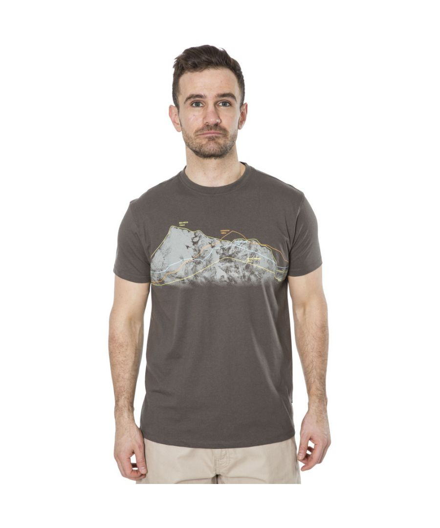 Image for Trespass Mens Cashing Round Neck Polycotton Wicking Casual Fit T Shirt