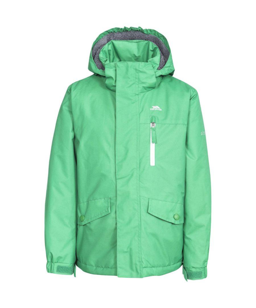 Image for Trespass Boys Ballast Waterproof Windproof Hooded Walking Jacket Coat