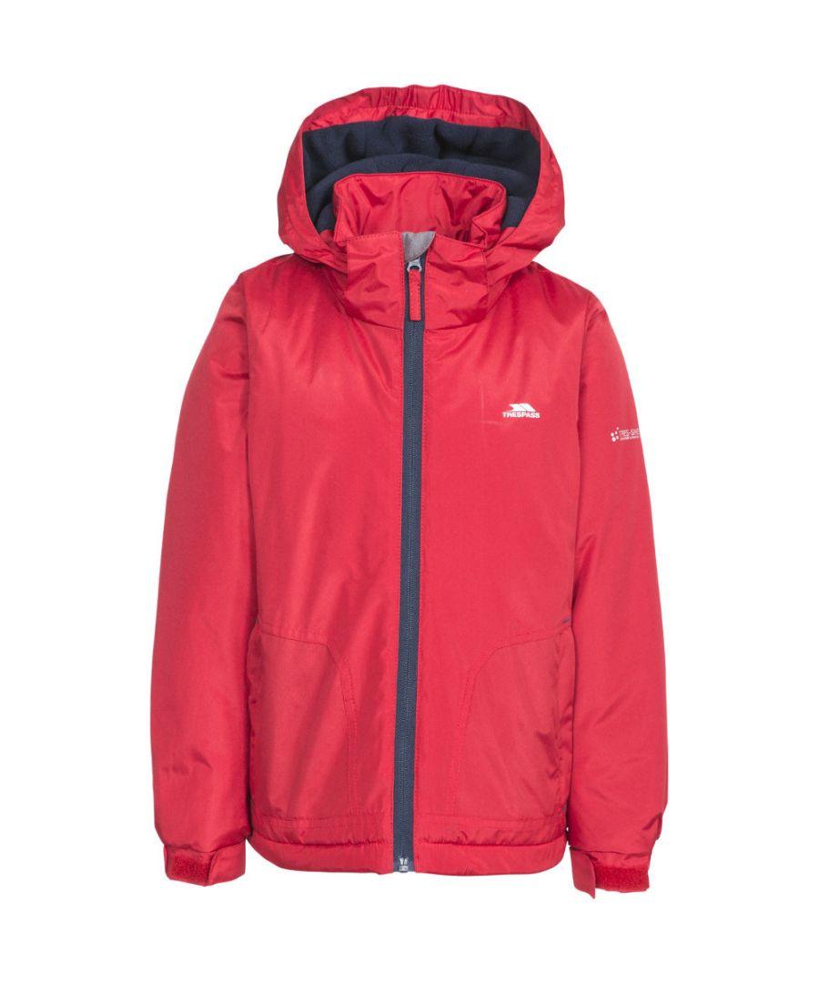 Image for Trespass Boys Rudi Waterproof Hooded Walking Jacket Coat