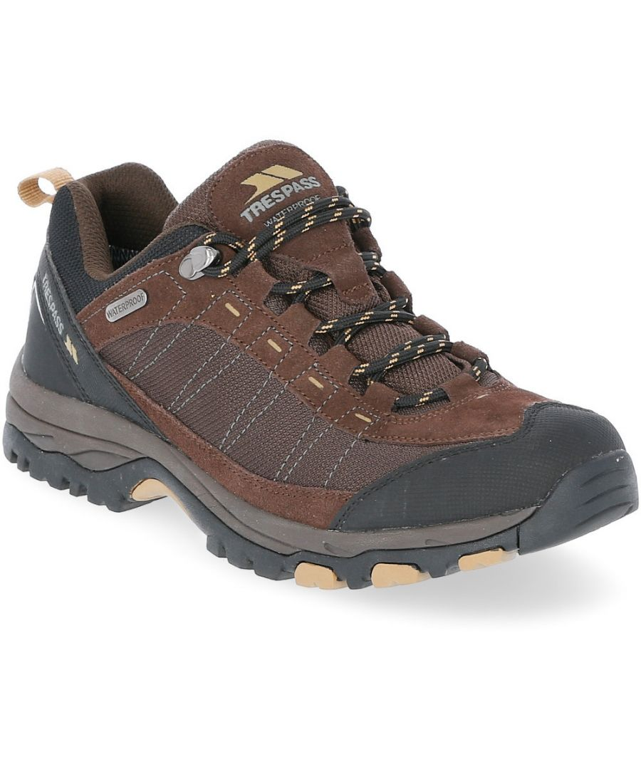 Image for Trespass Mens Scarp Waterproof Breathable Walking Shoes