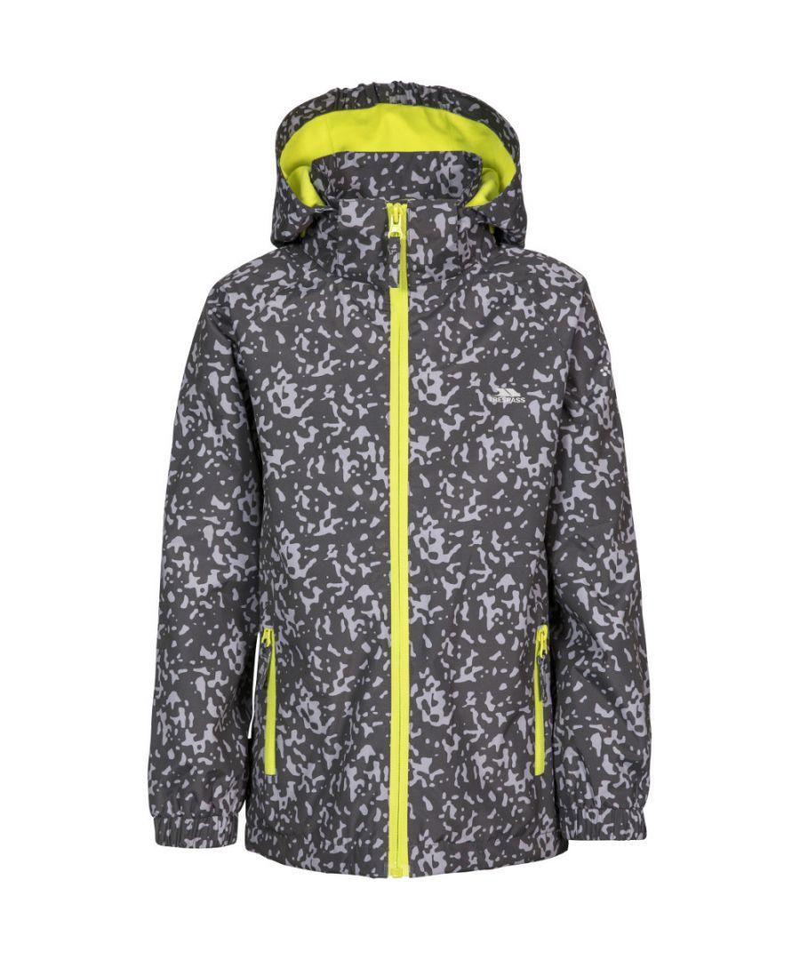 Image for Trespass Boys Sweeper Lightweight Waterproof Hooded Jacket