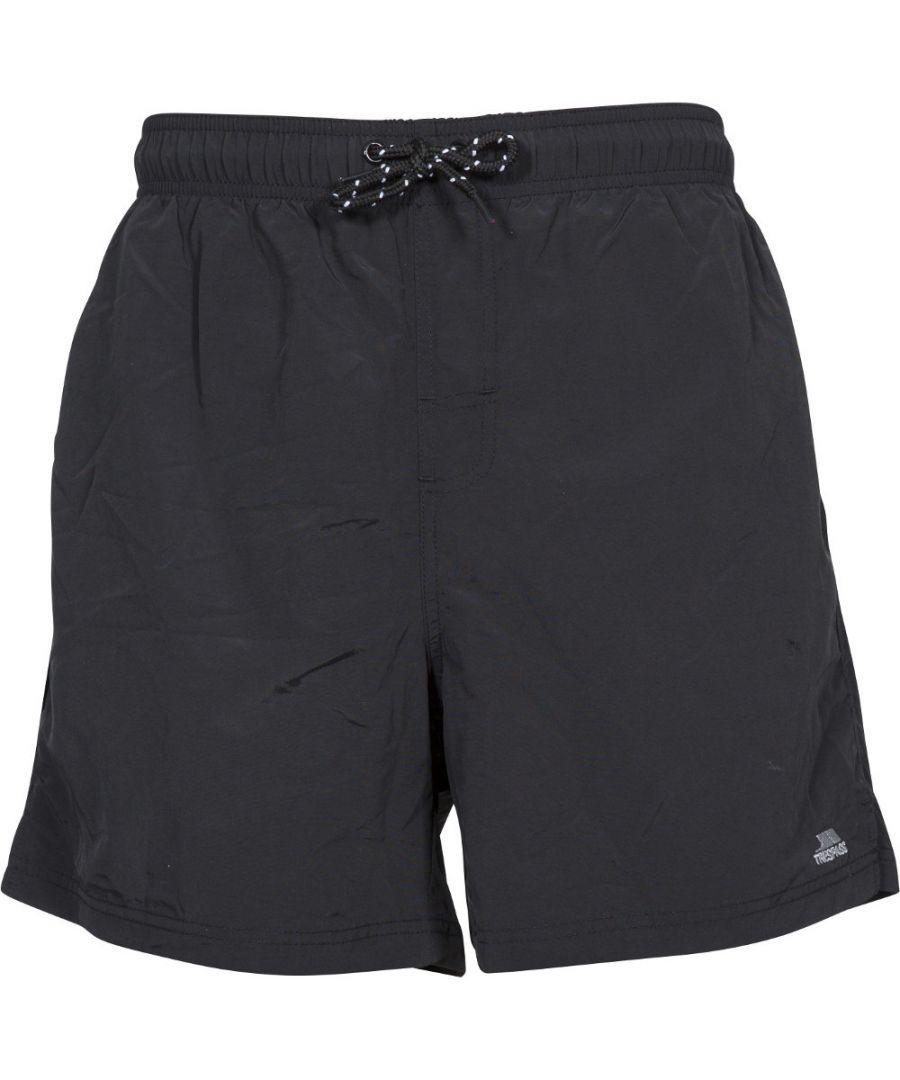 Image for Trespass Mens Luena Mid Length Elasticated Swimming Shorts
