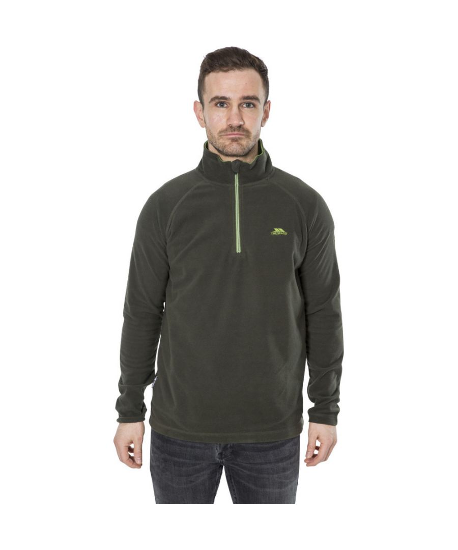 Image for Trespass Mens Blackford Half Zip Anti Pill Fleece Jacket