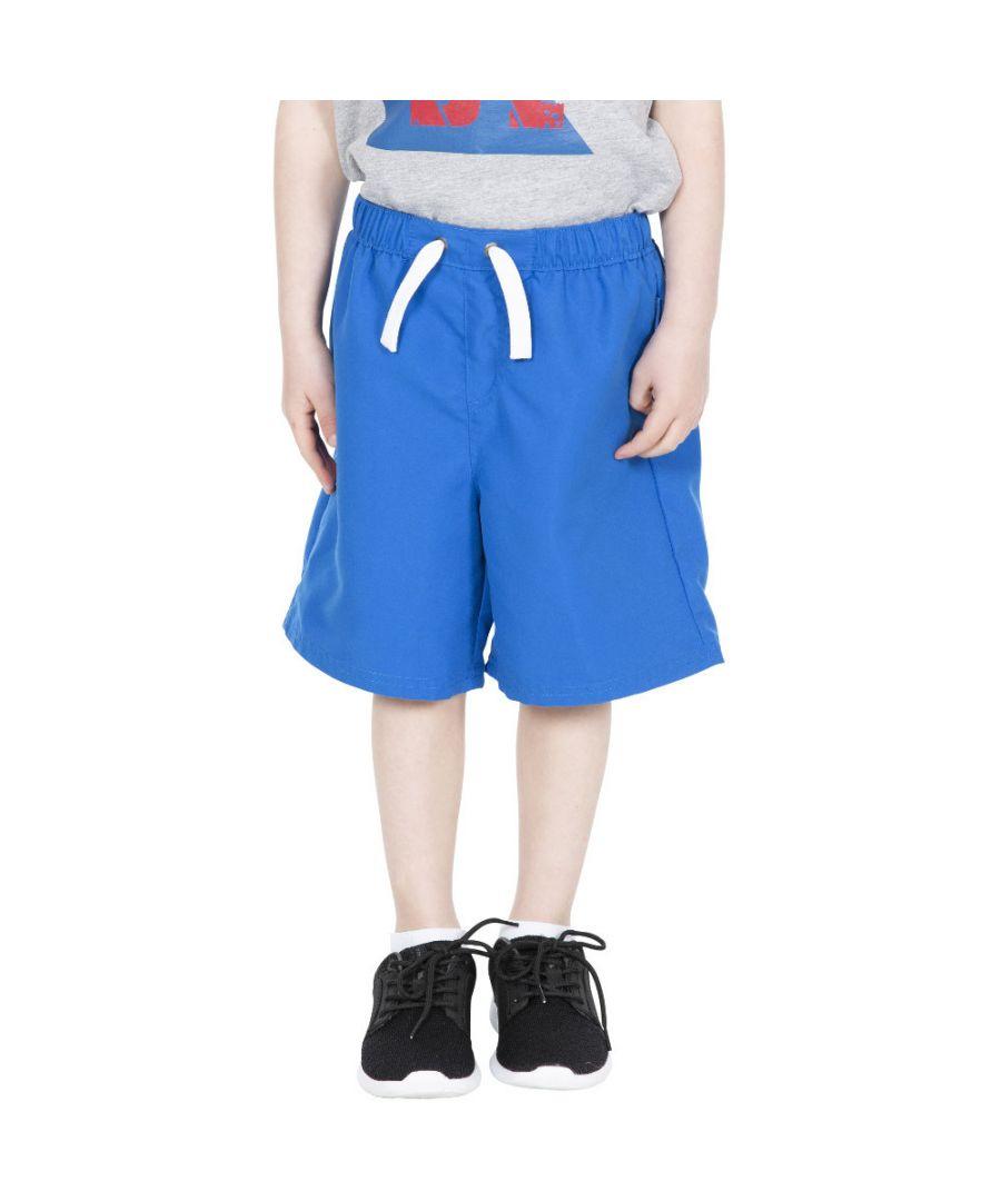 Image for Trespass Boys Riccardo Elasticated Swimming Beach Shorts