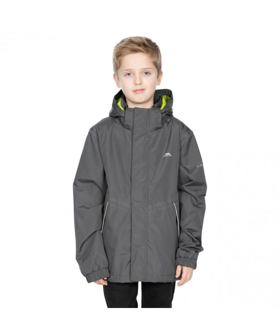 Image for Trespass Boys Vincenzo TP50 Waterproof Windproof Shell Coat