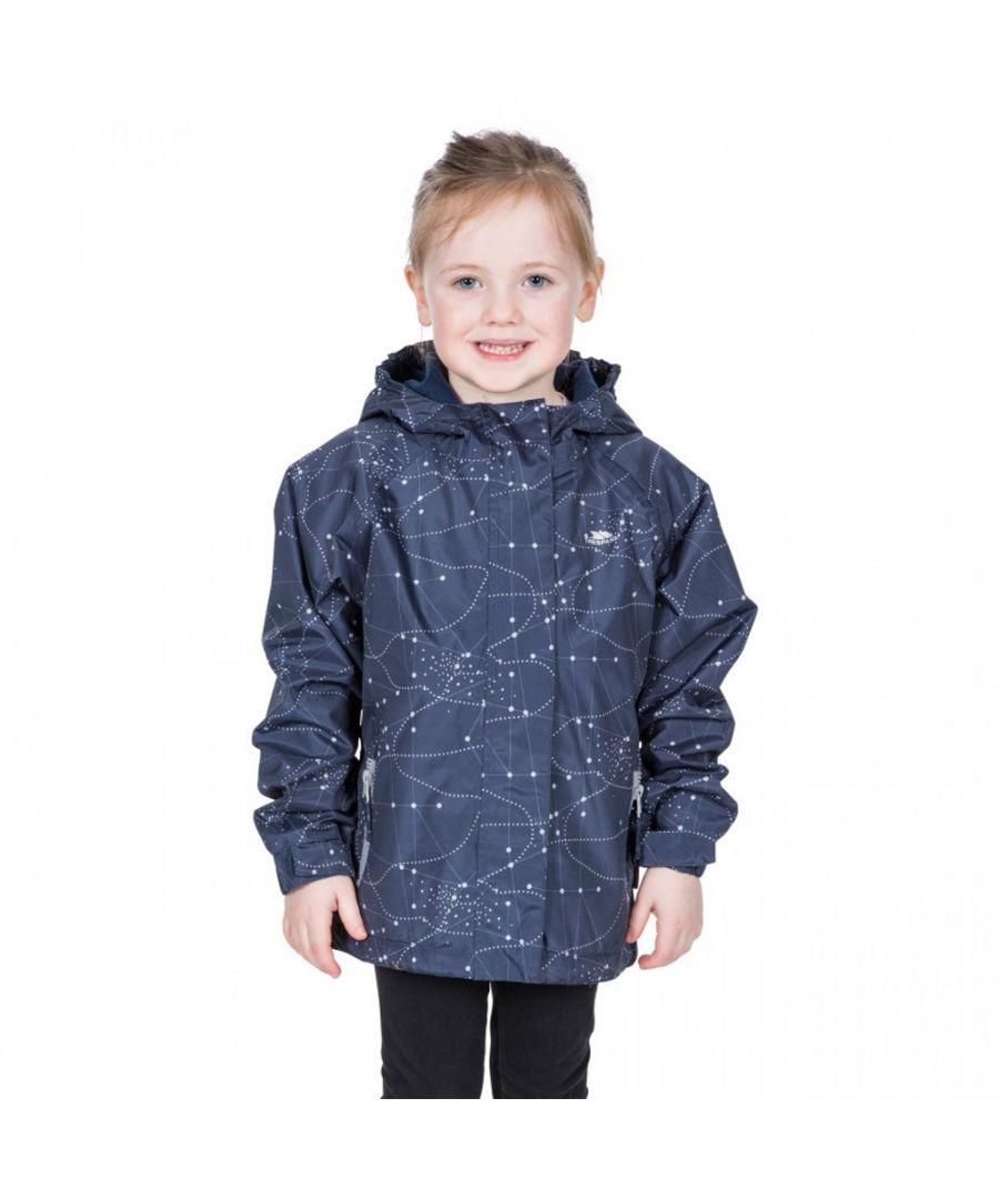 Image for Trespass Girls Vilma TP50 Waterproof Polyester Zip Up Jacket