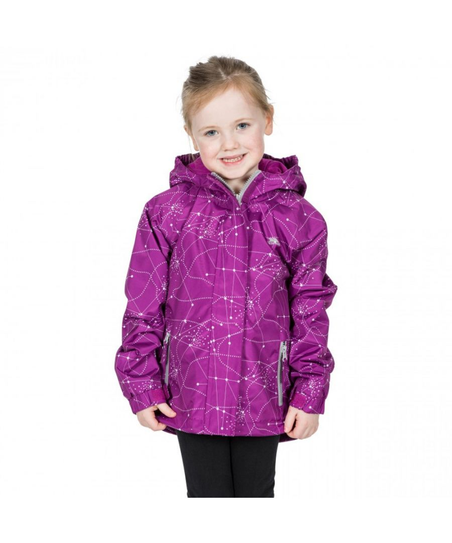 Image for Trespass Girls Vilma TP50 Waterproof Polyester Zip Up Jacket