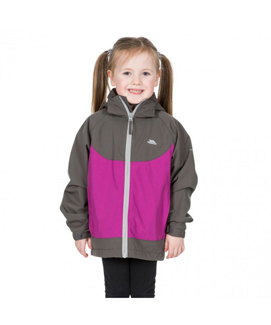 Image for Trespass Girls Novah TP75 Waterproof Breathable Zip Up Coat