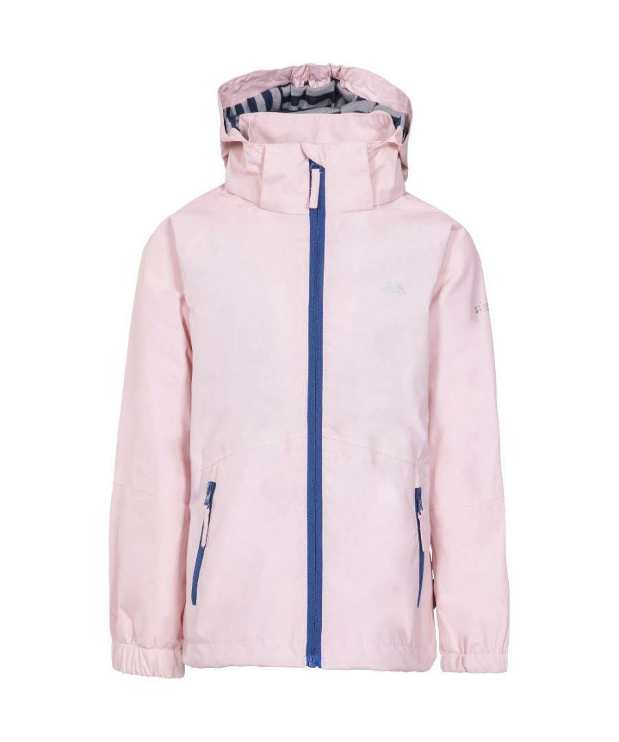 Image for Trespass Girls Fenna TP50 Waterproof Zip Up Outdoor Jacket