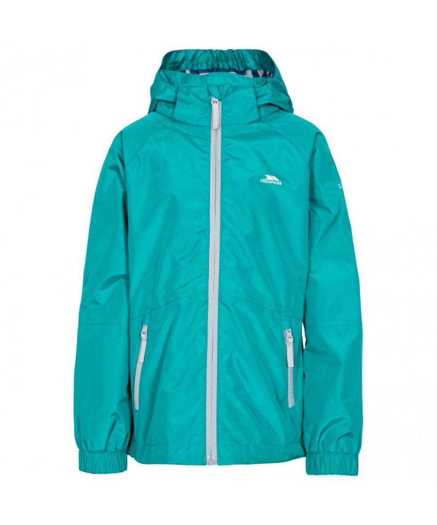 Image for Trespass Girls Fenna TP50 Waterproof Zip Up Outdoor Jacket