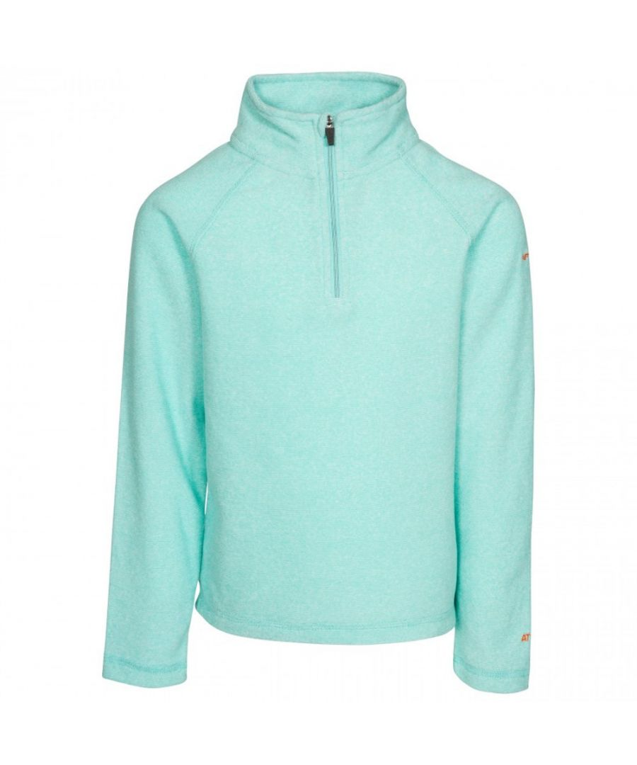 Image for Trespass Girls Meadows AT100 Airtrap Half Zip Fleece Top