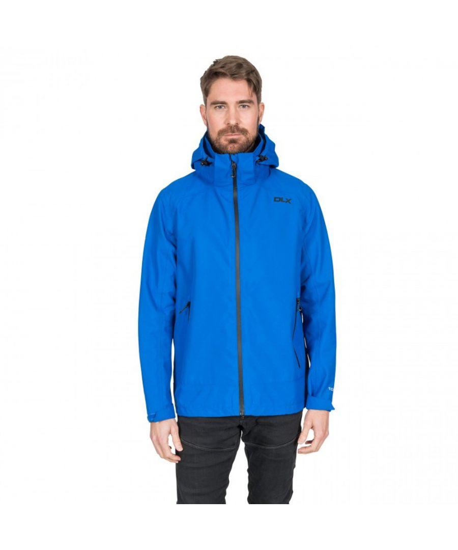 Image for Trespass Mens Lozano DLX Waterproof Hooded Zip Up Jacket