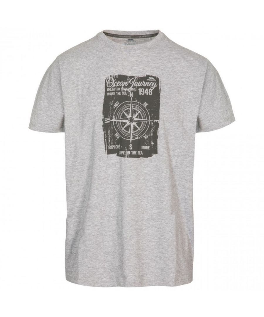 Image for Trespass Mens Course Short Sleeve Quick Dry Graphic T Shirt