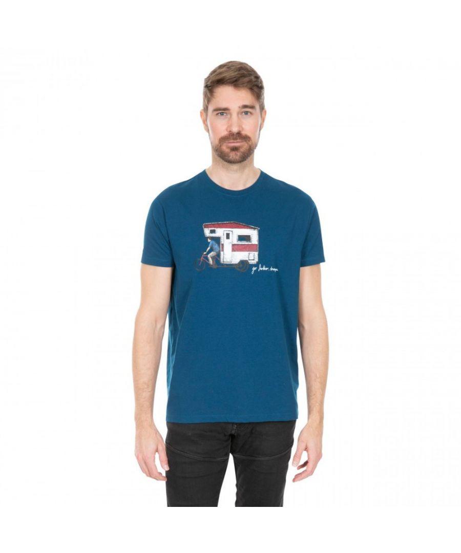 Image for Trespass Mens Gibson II Graphic Short Sleeve T Shirt