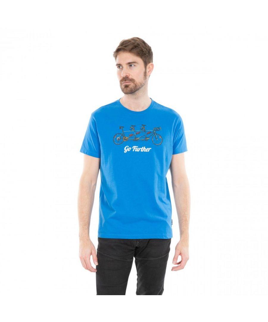 Image for Trespass Mens Hanks II Short Sleeve Graphic T Shirt