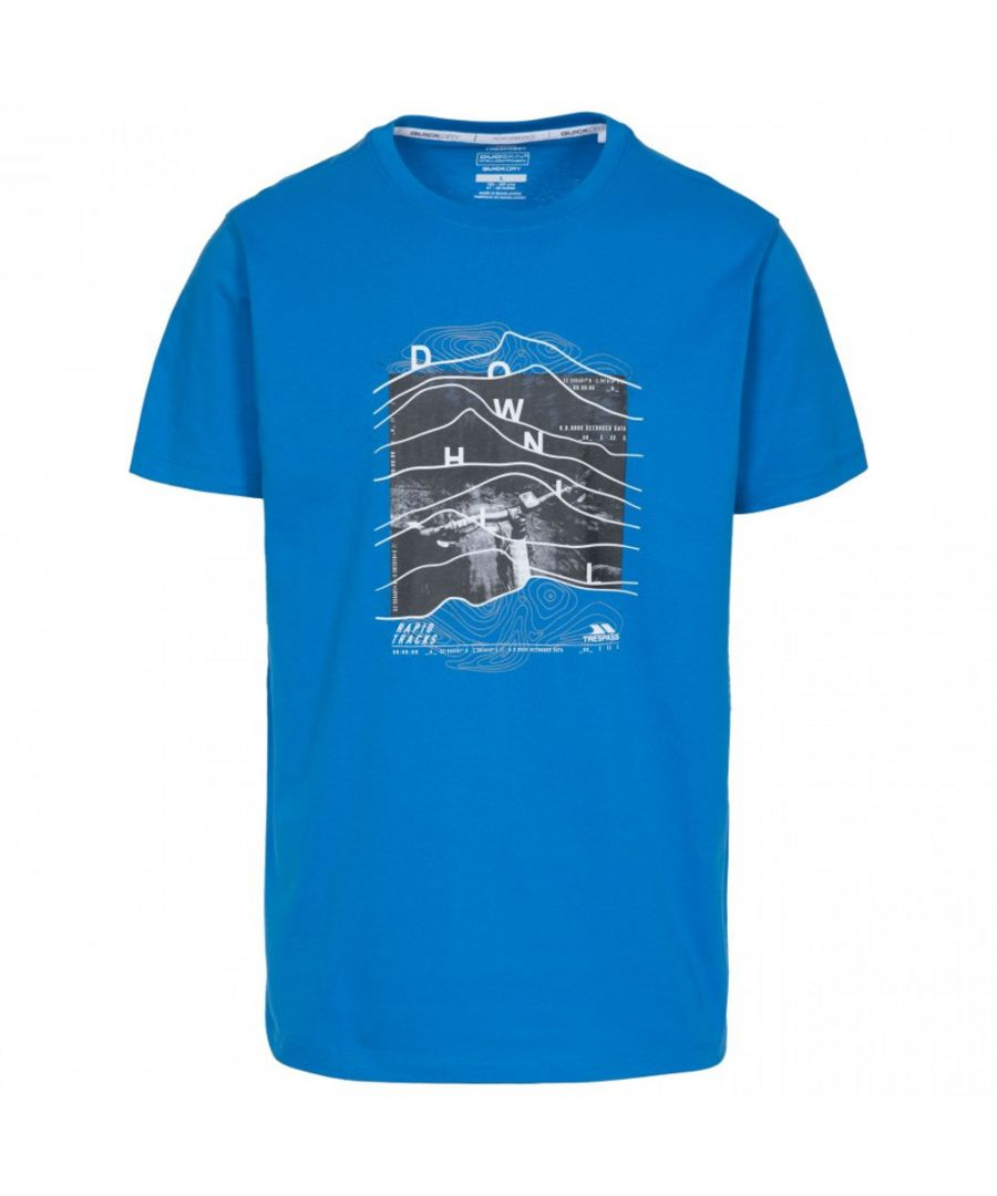 Image for Trespass Mens Downhill Short Sleeve Graphic T Shirt