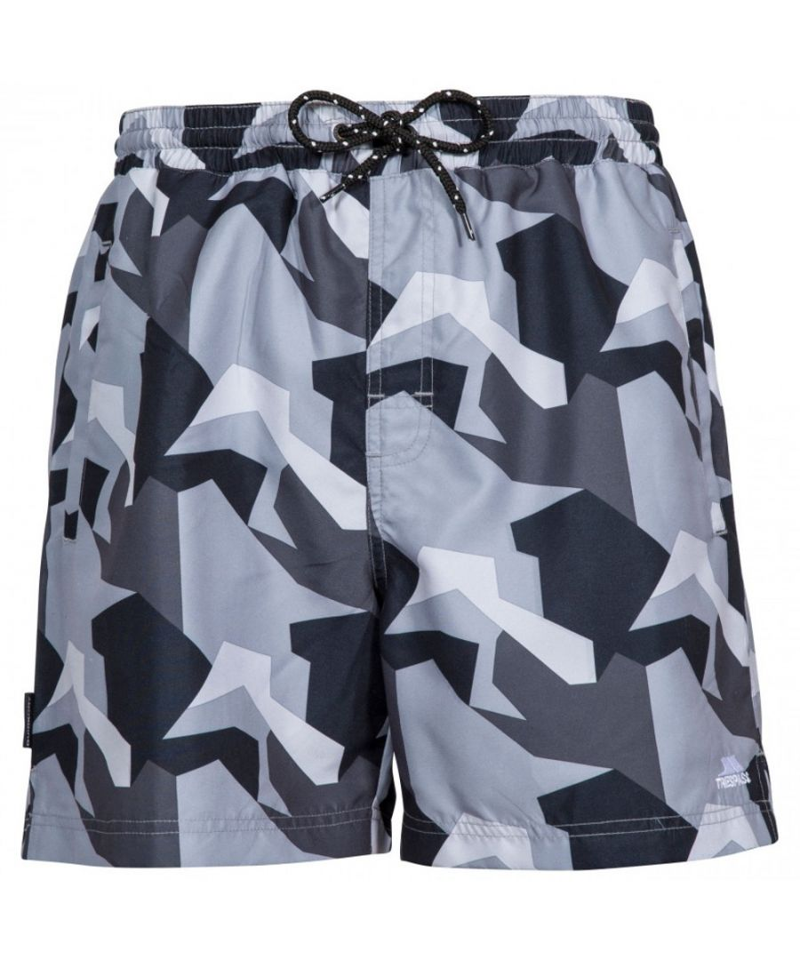 Image for Trespass Mens Chiggers Mid Length Quick Dry Swim Shorts