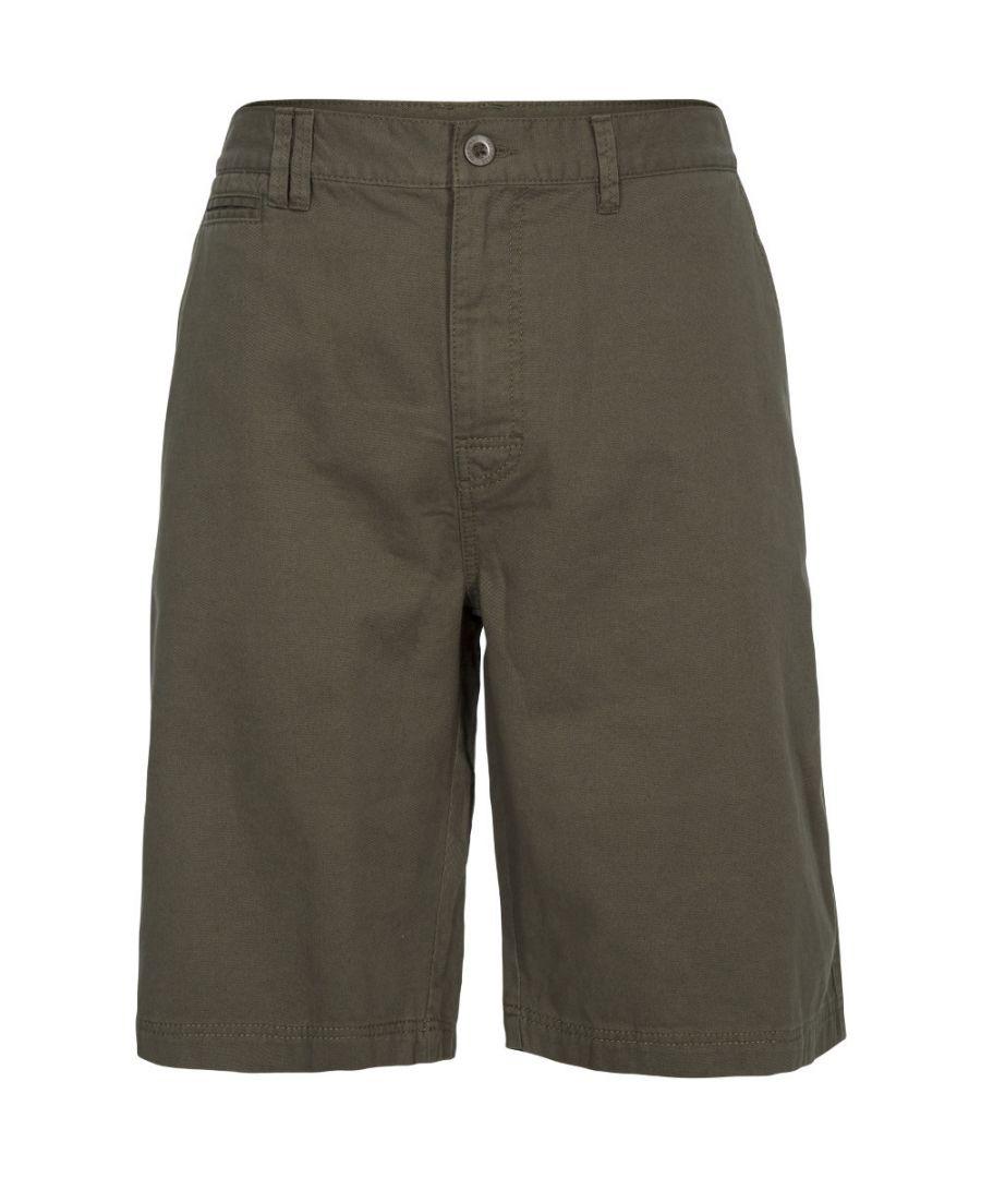 Image for Trespass Mens Leominster Lightweight Travel Walking Shorts