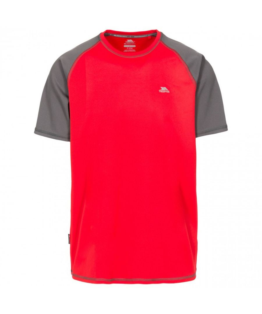 Image for Trespass Mens Firebrat Quick Dry Active Short Sleeve T Shirt