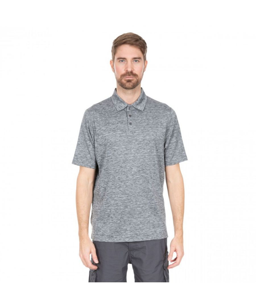 Image for Trespass Mens Monocle Quick Dry Short Sleeve Polo Shirt