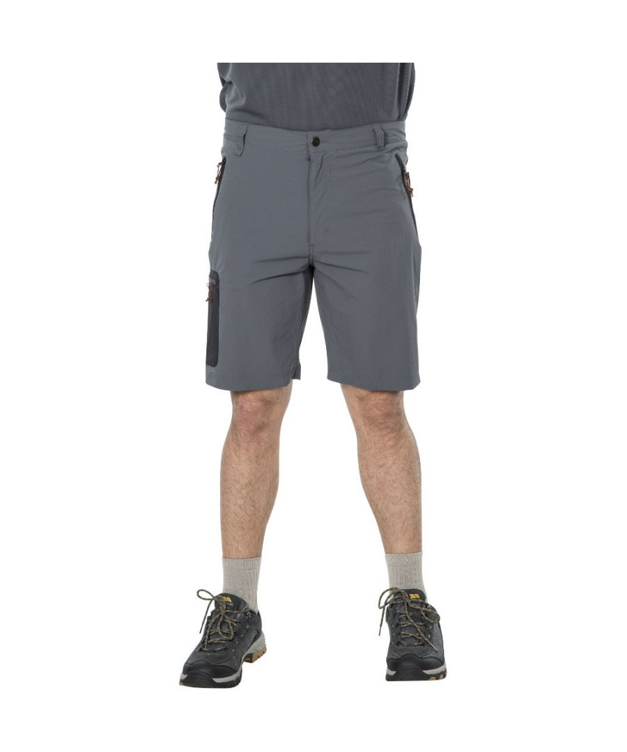Image for Trespass Mens Runnel Quick Dry Walking Travel Shorts