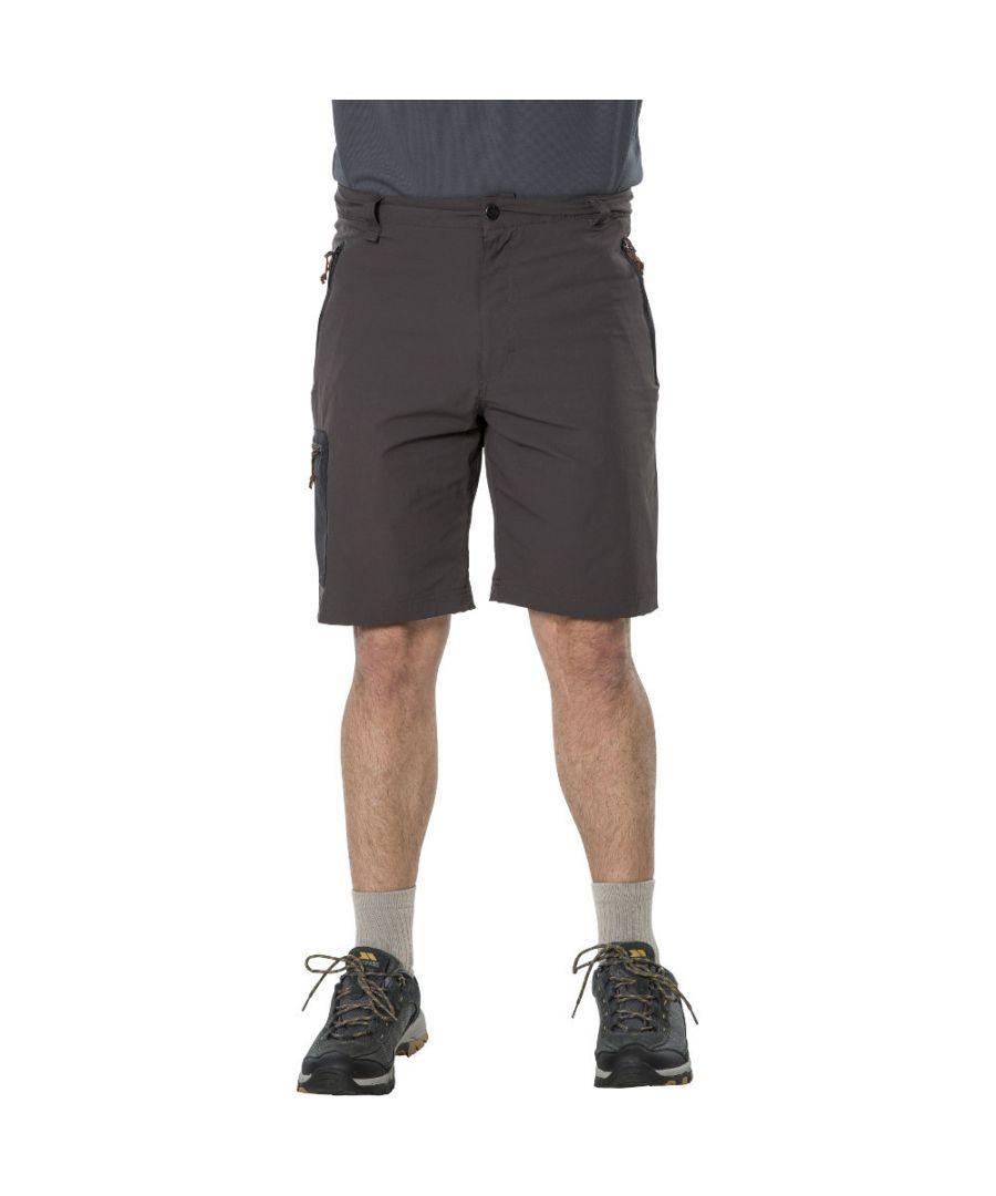 Image for Trespass Mens Runnel Quick Dry Walking Travel Shorts