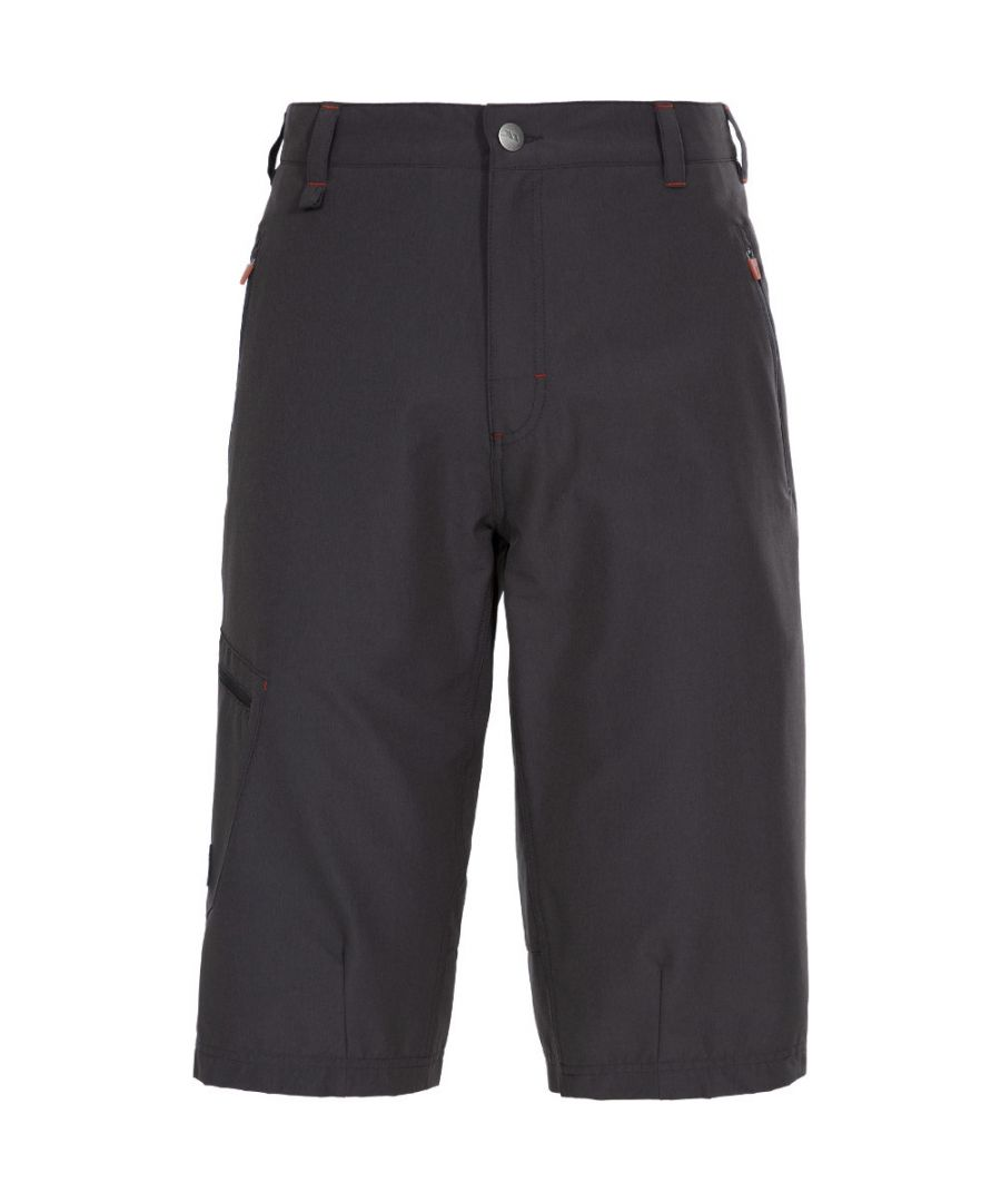 Image for Trespass Mens Locate Long Length Walking Travel Shorts