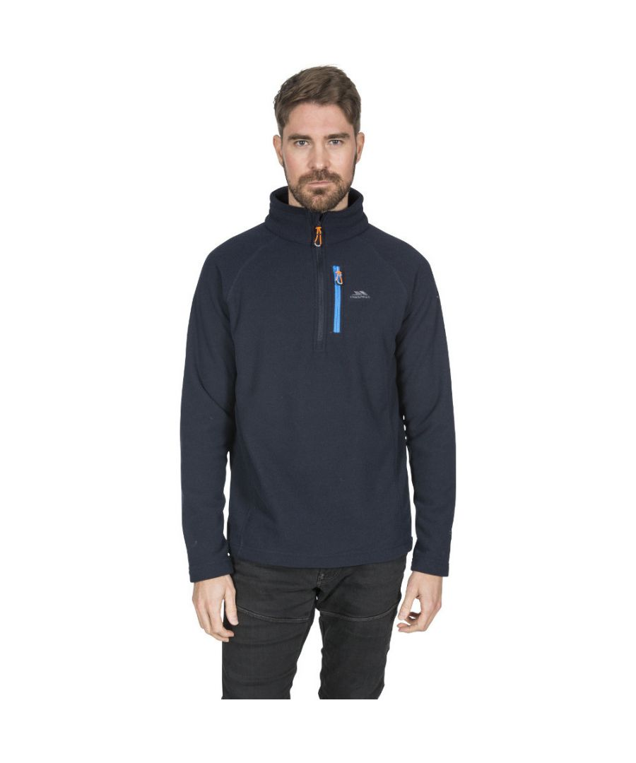 Image for Trespass Mens Structual Half Zip Warm Soft Fleece Top