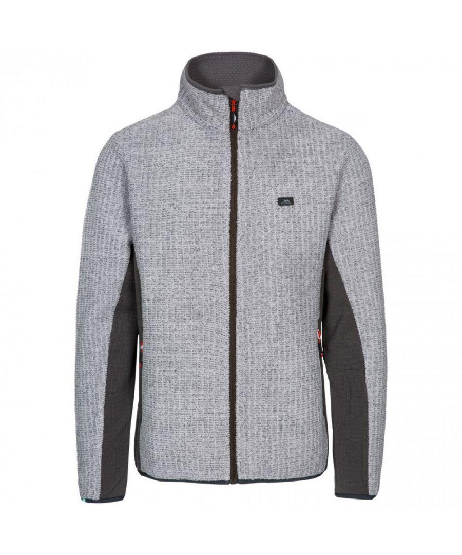 Image for Trespass Mens Templetonpeck Full Zip Warm Fleece Jacket