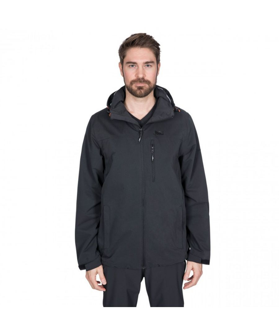 Image for Trespass Mens Weir Waterproof Windproof Breathable Jacket