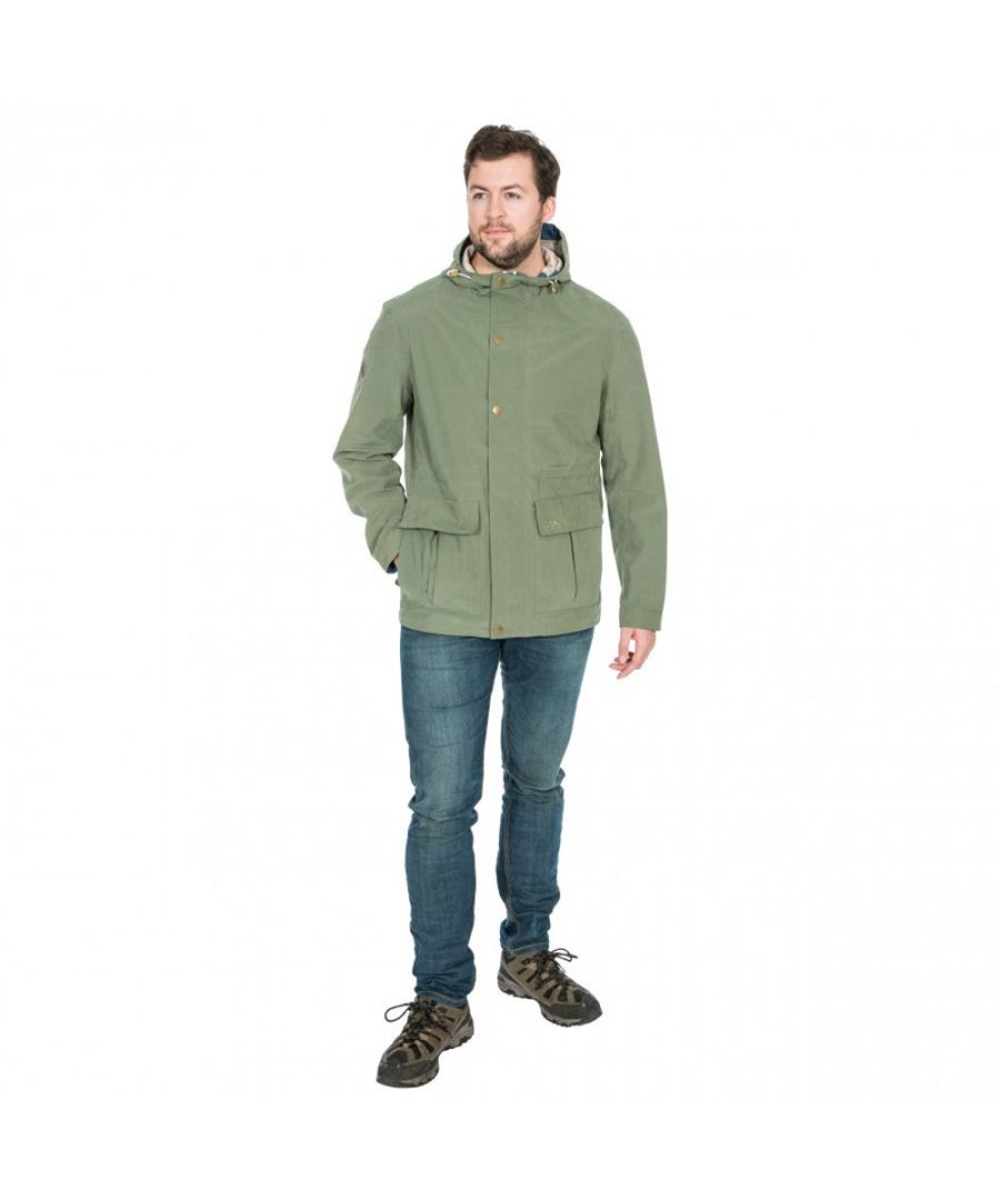 Image for Trespass Mens Riverbank Waterproof Windproof Jacket