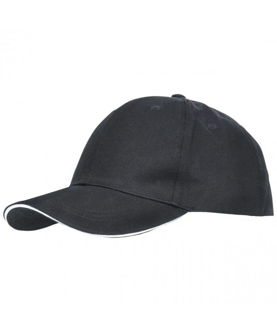 Image for Trespass Mens Carrigan Cotton Summer Baseball Sun Cap