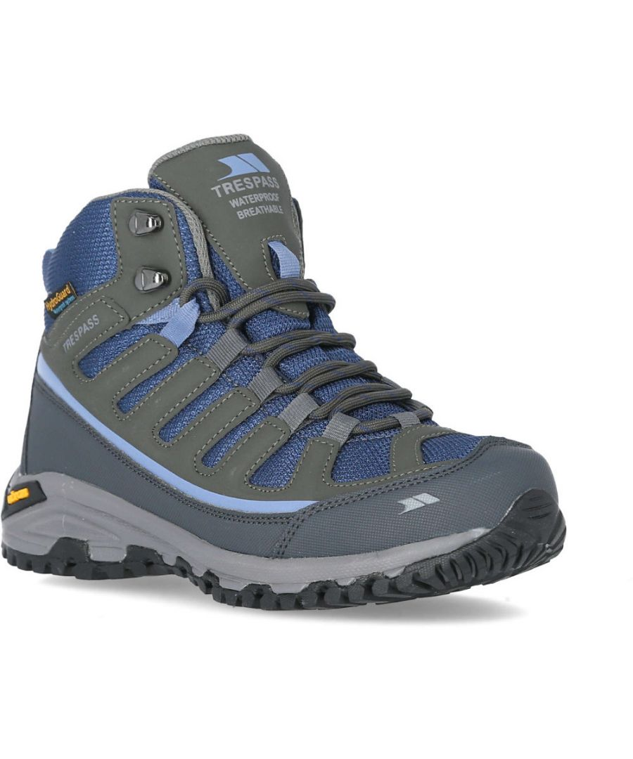 Image for Trespass Womens Tensing Mid Height Waterproof Walking Boots