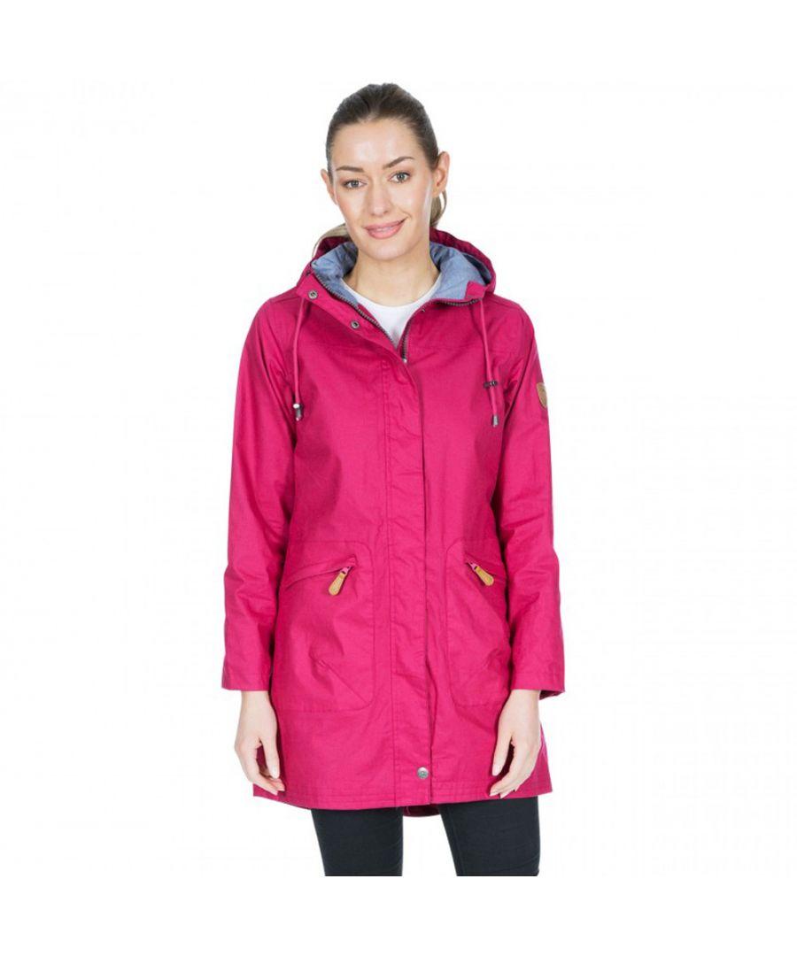 Image for Trespass Womens Sprinkled TP75 Waterproof Hooded Parka Coat
