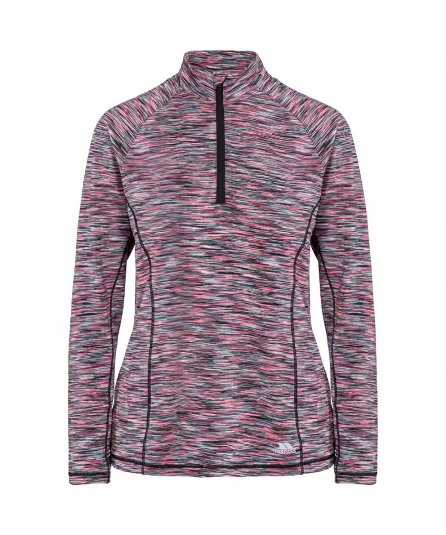 Image for Trespass Womens Edith Active Quick Drying Long Sleeve Top