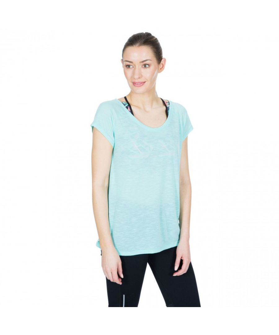 Image for Trespass Womens Newby Short Sleeve Quick Drying Active Top