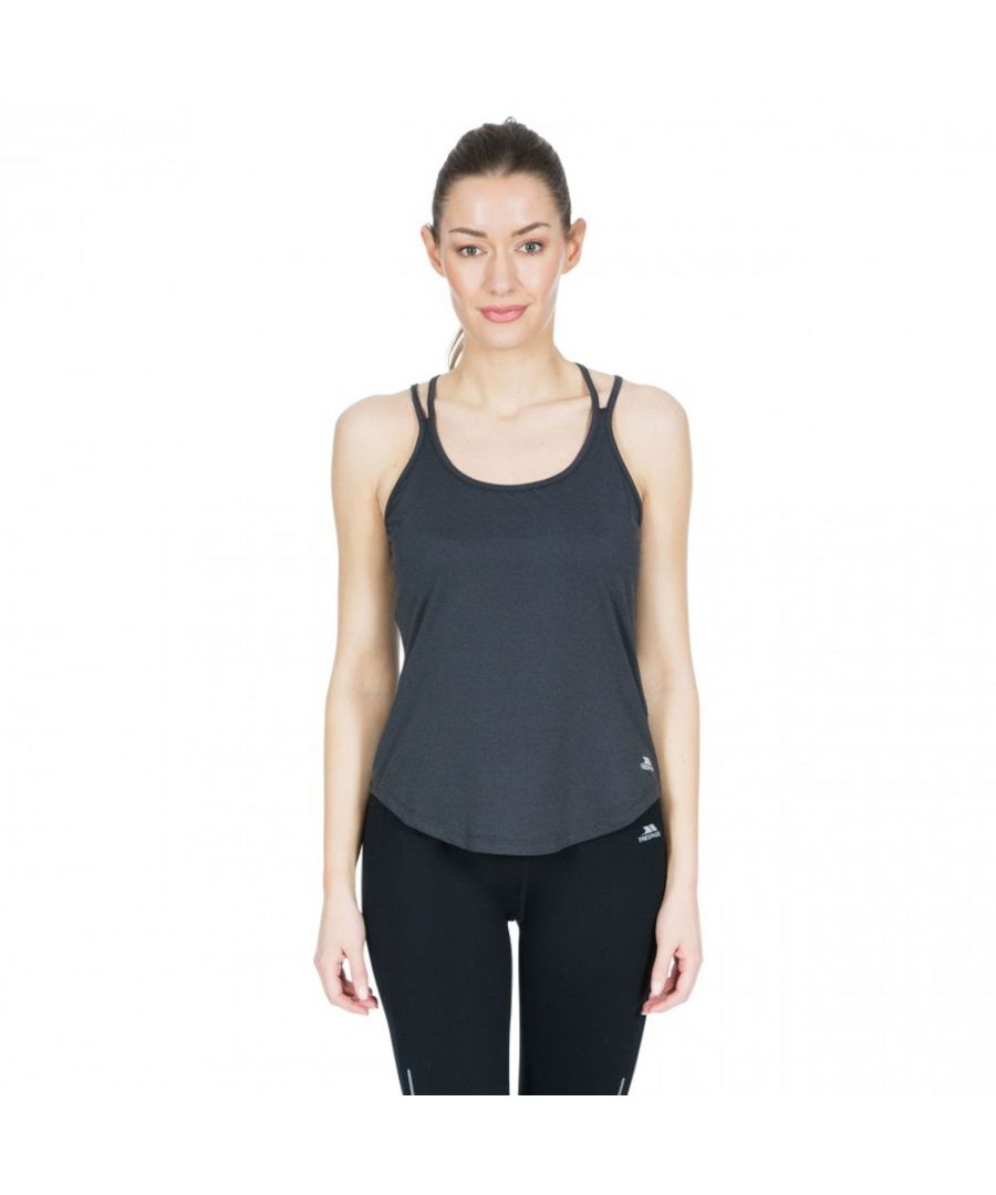 Image for Trespass Womens Meghan Crossover Reflective Active Vest Top