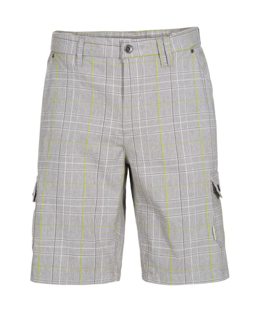 Image for Trespass Mens Earwig Longer Length Walking Cargo Shorts