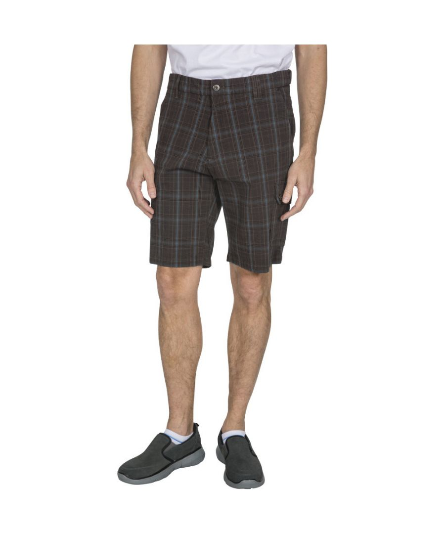 Image for Trespass Mens Earwig Longer Length Walking Cargo Shorts