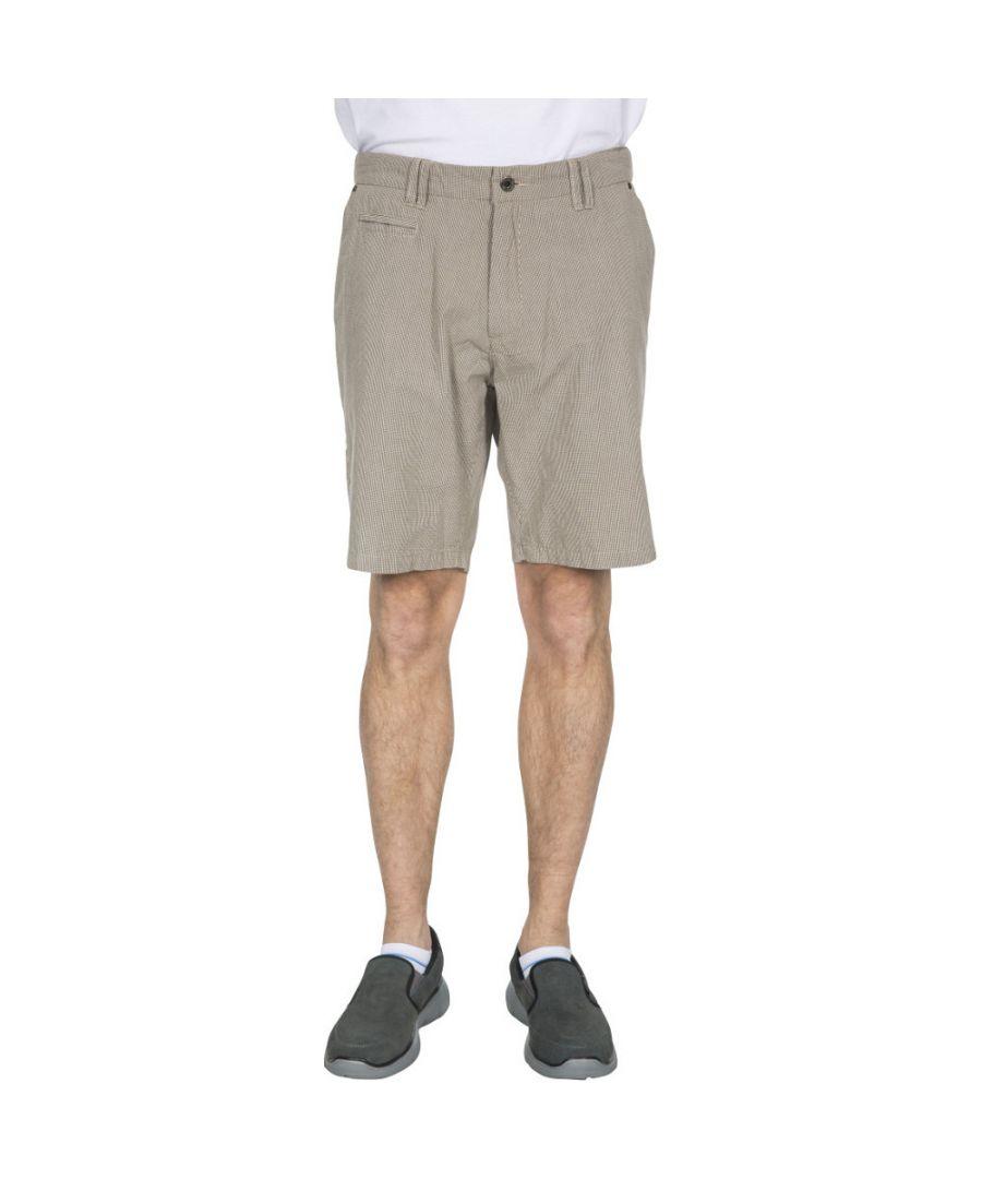 Image for Trespass Mens Miner Longer Length Breathable Summer Shorts