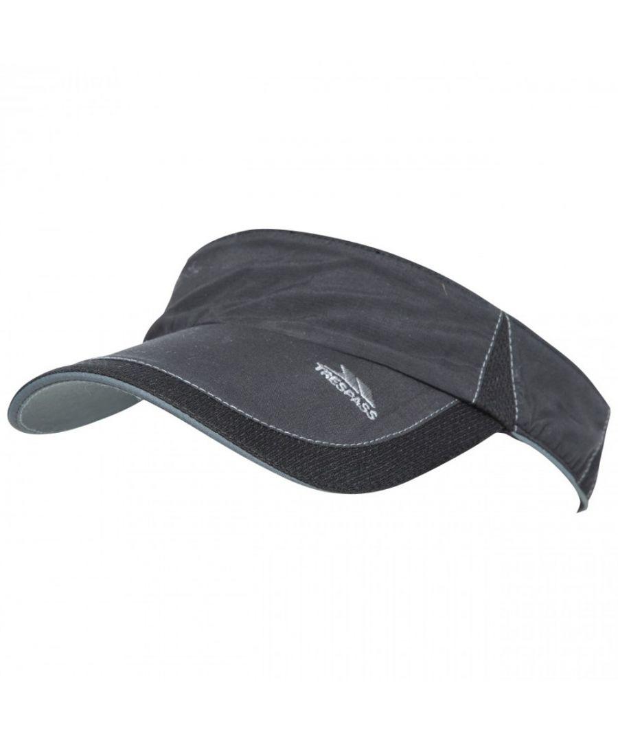 Image for Trespass Mens Cutts Reflective Adjustable Running Visor Hat