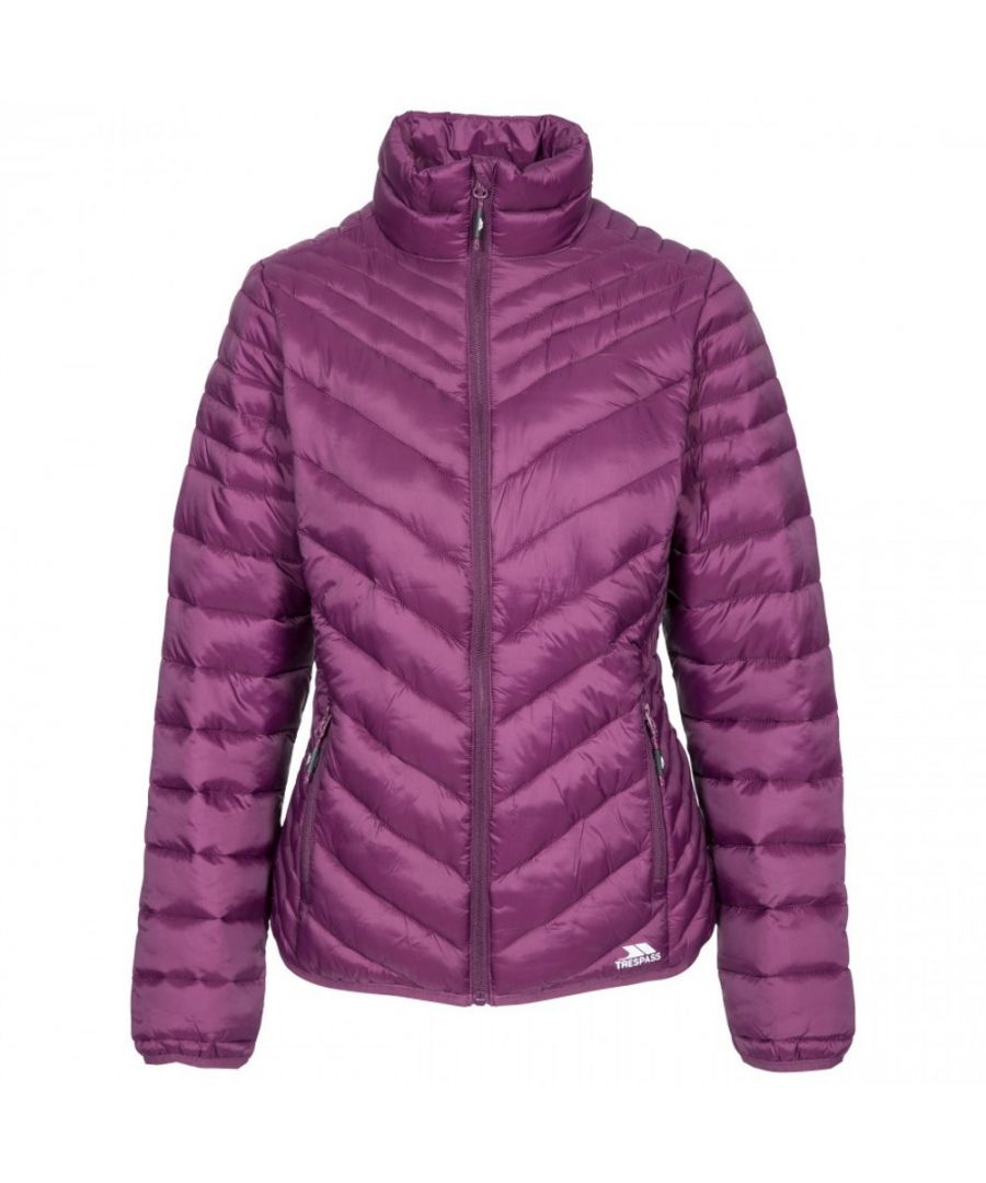 Image for Trespass Womens Simara Padded Down Touch Warm Quilted Coat