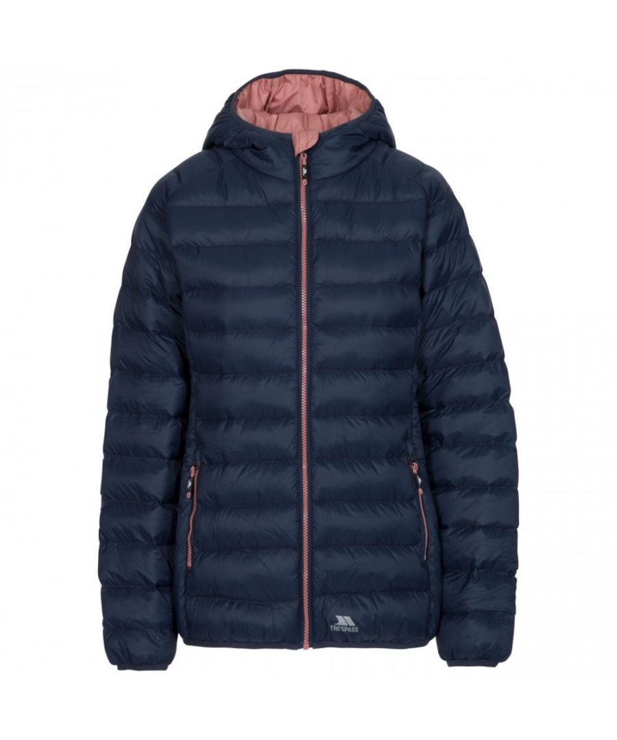 Image for Trespass Womens Abigail Padded Hooded Warm Casual Coat