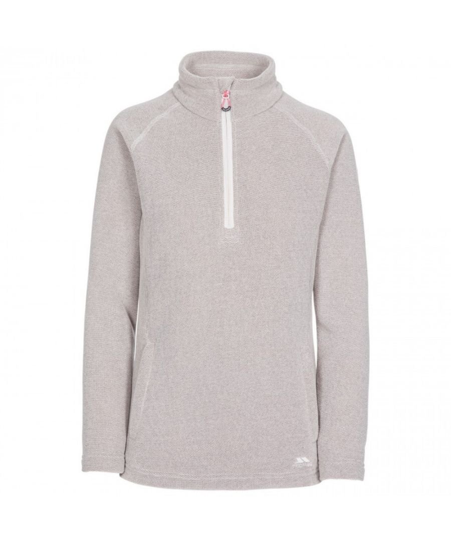 Image for Trespass Womens Commotion AT200 Half Zip Airtrap Fleece