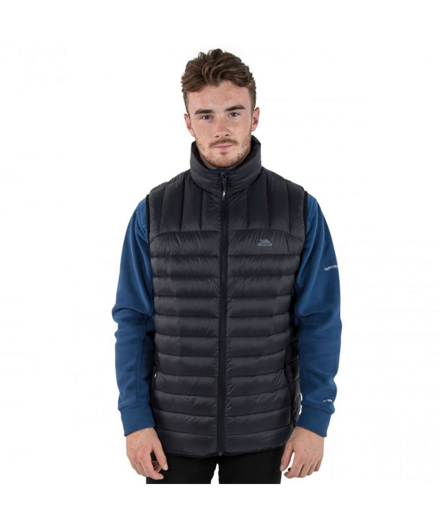 Image for Trespass Mens Hoppers Ultra Lightweight Down Padded Gilet