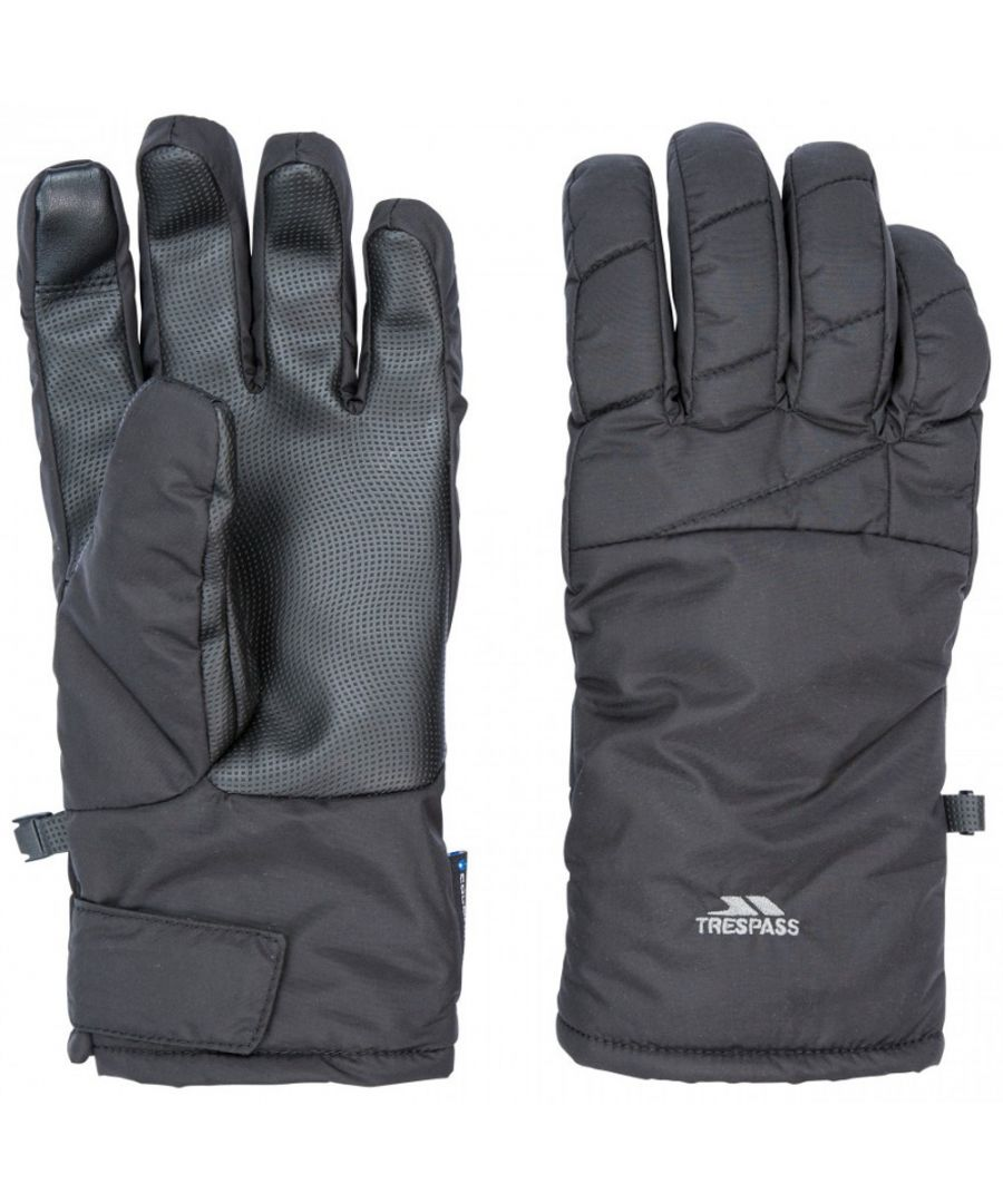 Image for Trespass Mens Kulfon Lightly Padded Winter Warm Gloves