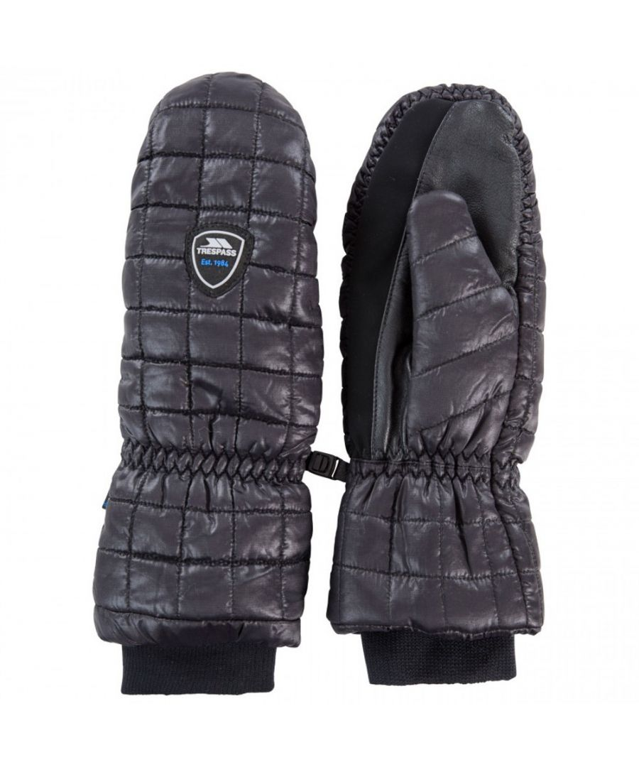 Image for Trespass Womens Pikido Lightly Padded Winter Warm Mitts