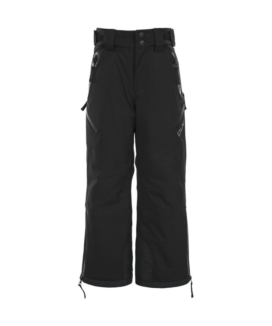 Image for Trespass Boys Dozer Waterproof Down Touch Ski Pants Trousers